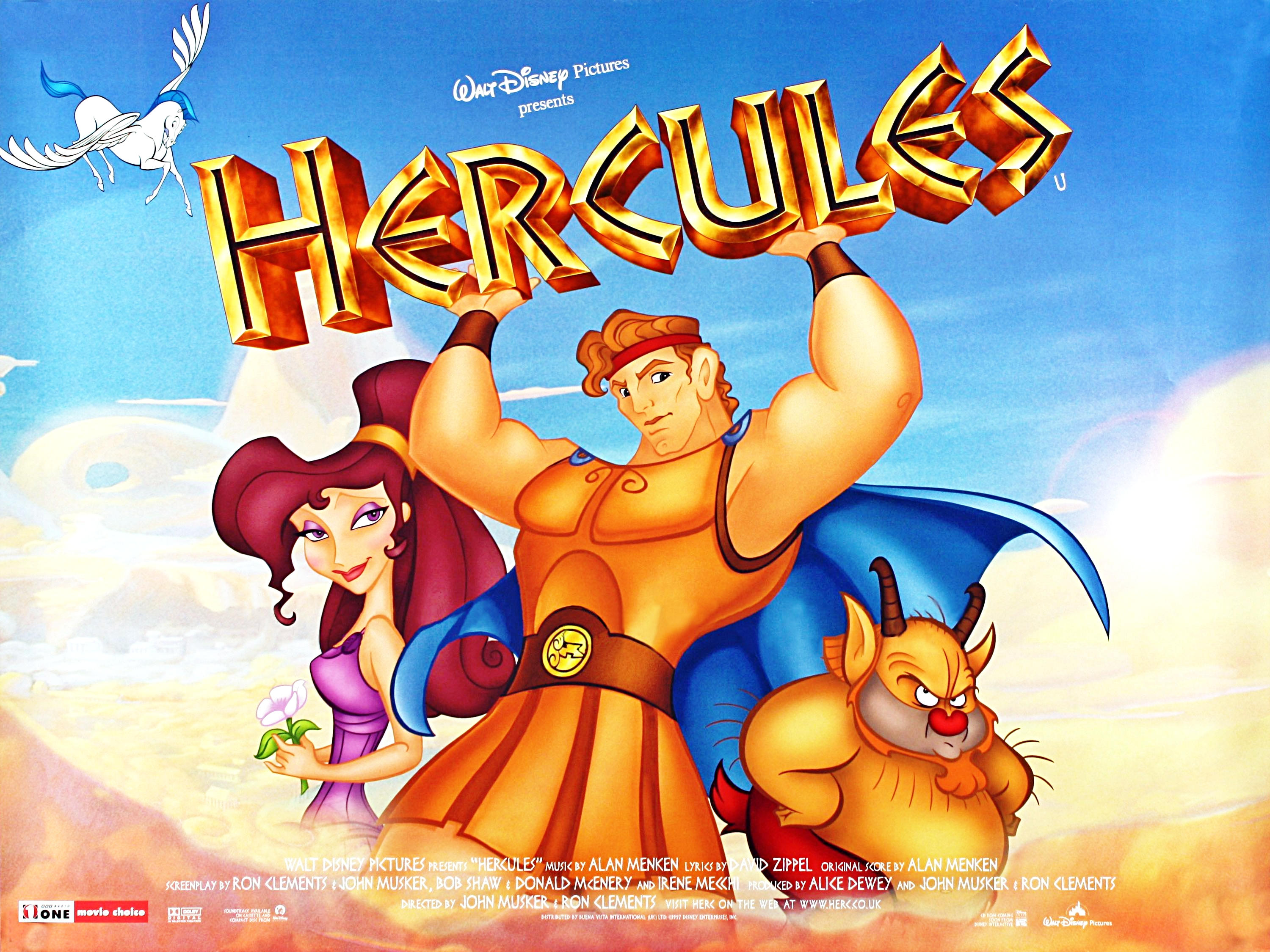 Hercules- The Disney version